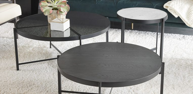 Coffee and End Tables Available Through Sunpan