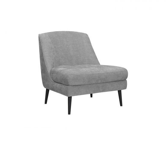 pewter side chair