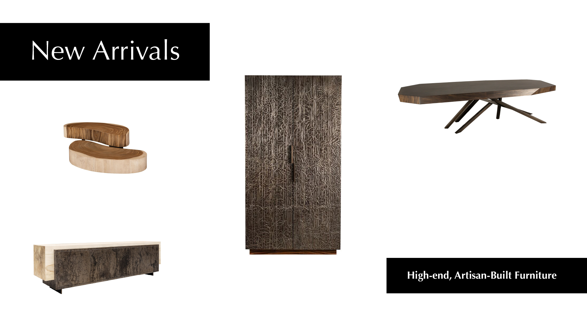 Fabulous Artisan Furniture Ethically Crafted for Park Furnishings